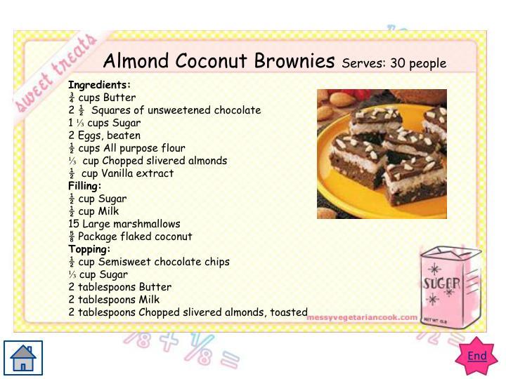 Teacher's Page recipe 1