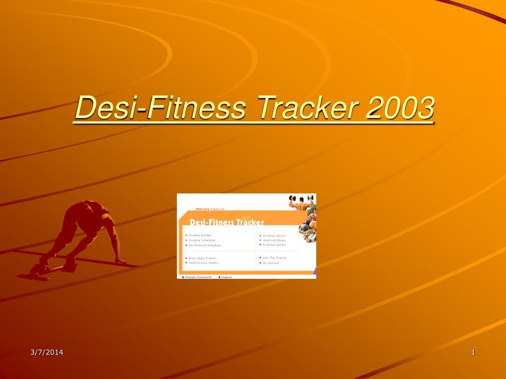 desi fitness tracker 2003 l.