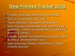 desi fitness tracker 20033
