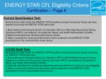 energy star cfl eligibility criteria certification page 8