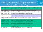 energy star cfl eligibility criteria reference standards page 4