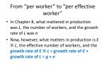 from per worker to per effective worker18