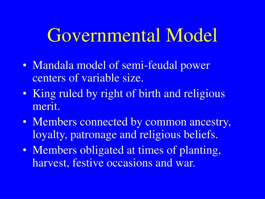 Governmental Model
