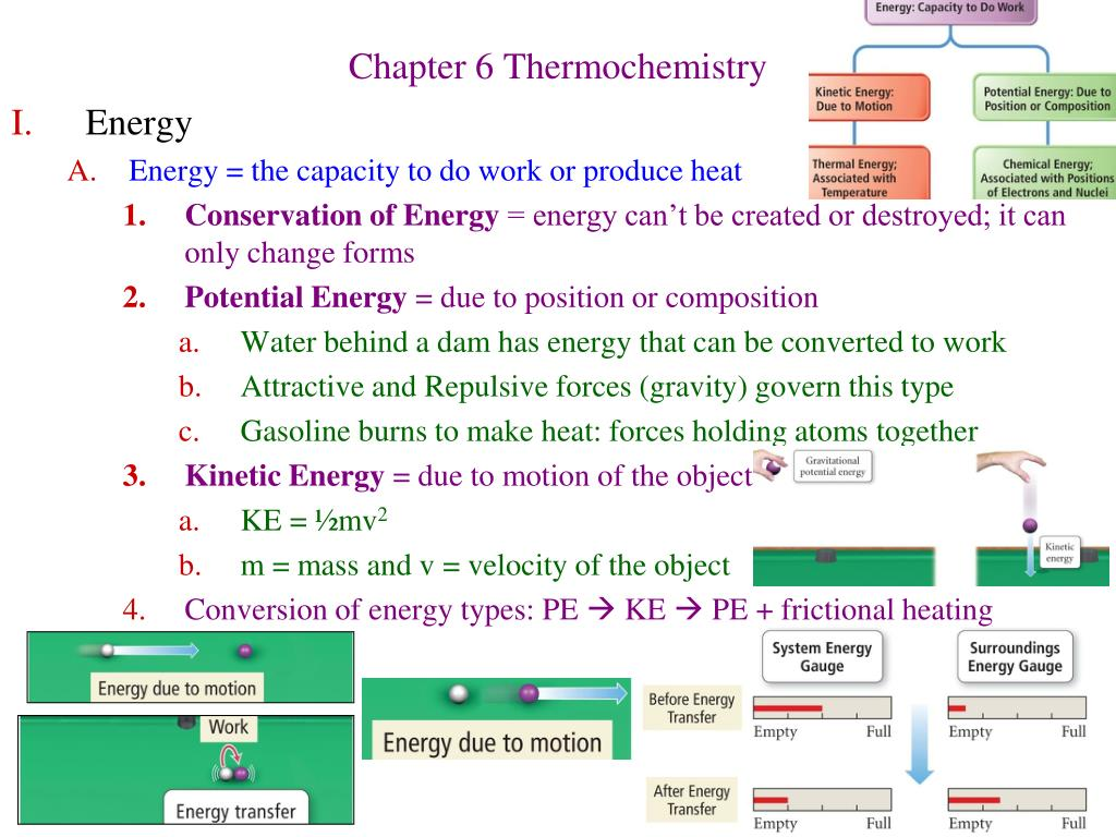 chapter 6 thermochemistry l.