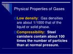 physical properties of gases16