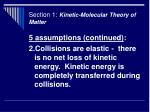 section 1 kinetic molecular theory of matter7