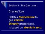section 3 the gas laws38