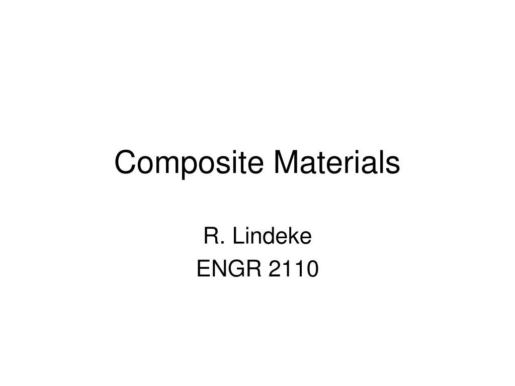 composite materials l.