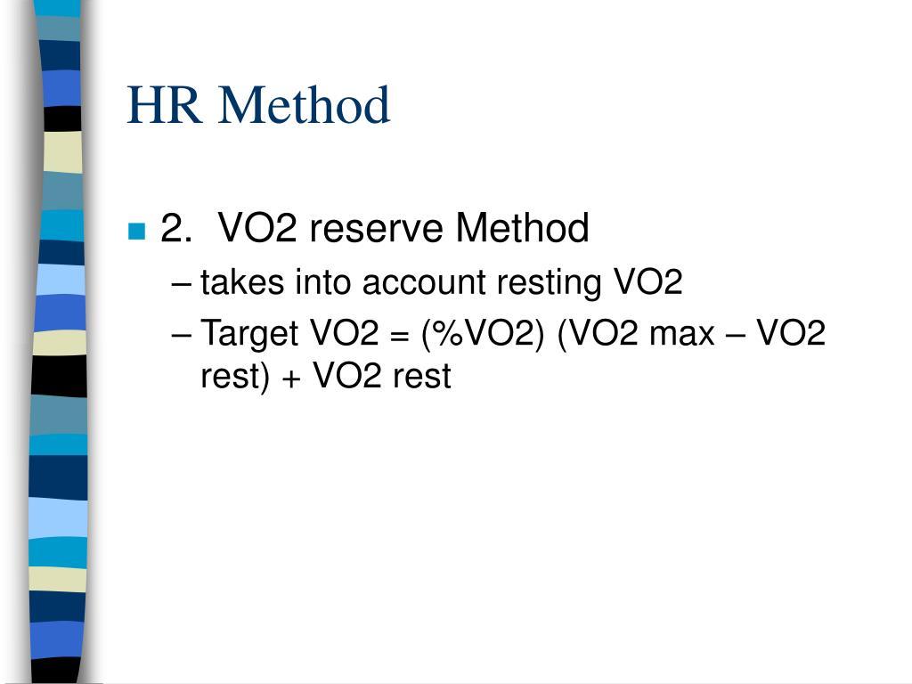 HR Method