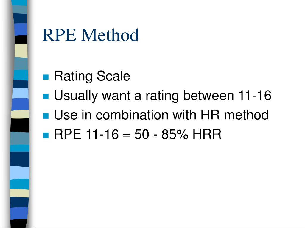 RPE Method