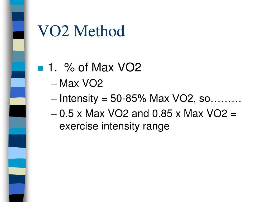 VO2 Method