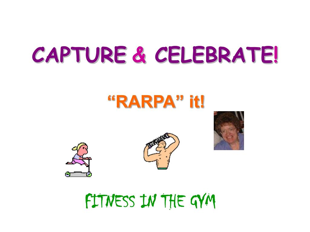 capture celebrate l.