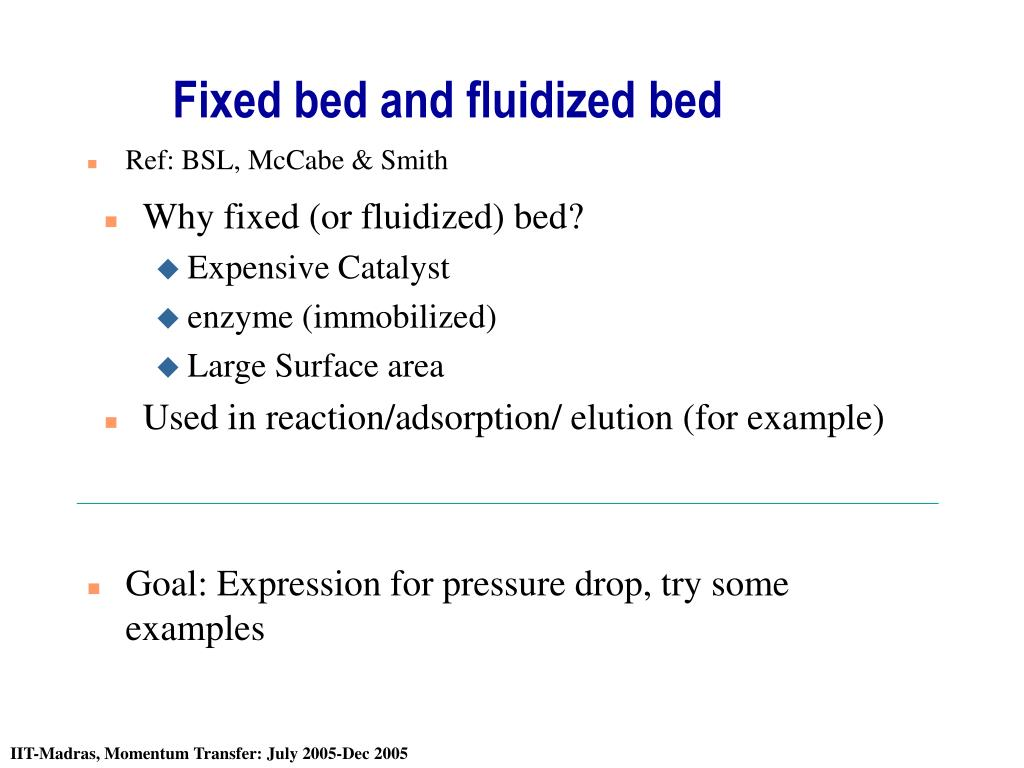 fixed bed and fluidized bed l.