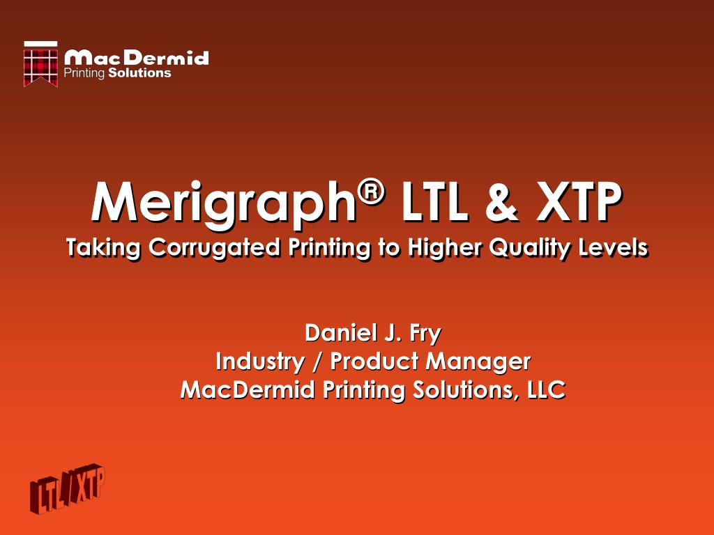 merigraph ltl xtp taking corrugated printing to higher quality levels l.