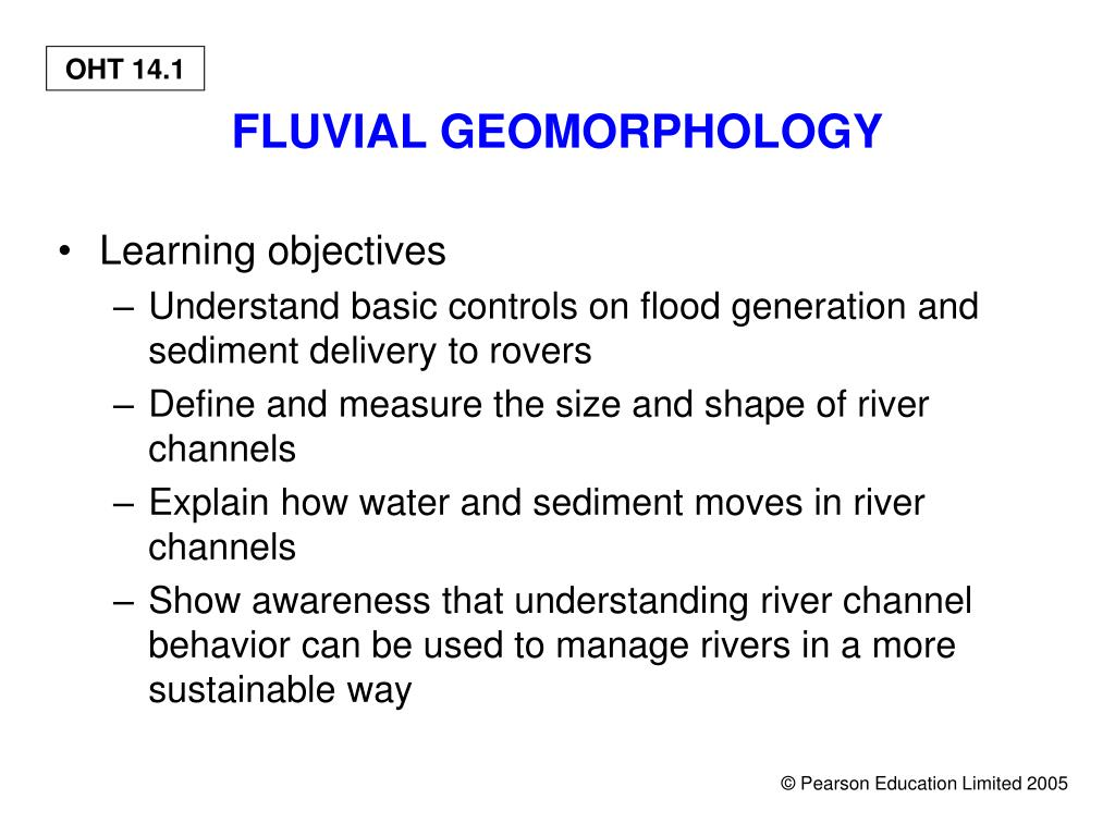 fluvial geomorphology l.