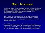 milan tennessee
