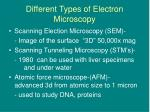 different types of electron microscopy13
