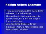 falling action example
