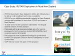 case study ipstar deployment in rural new zealand