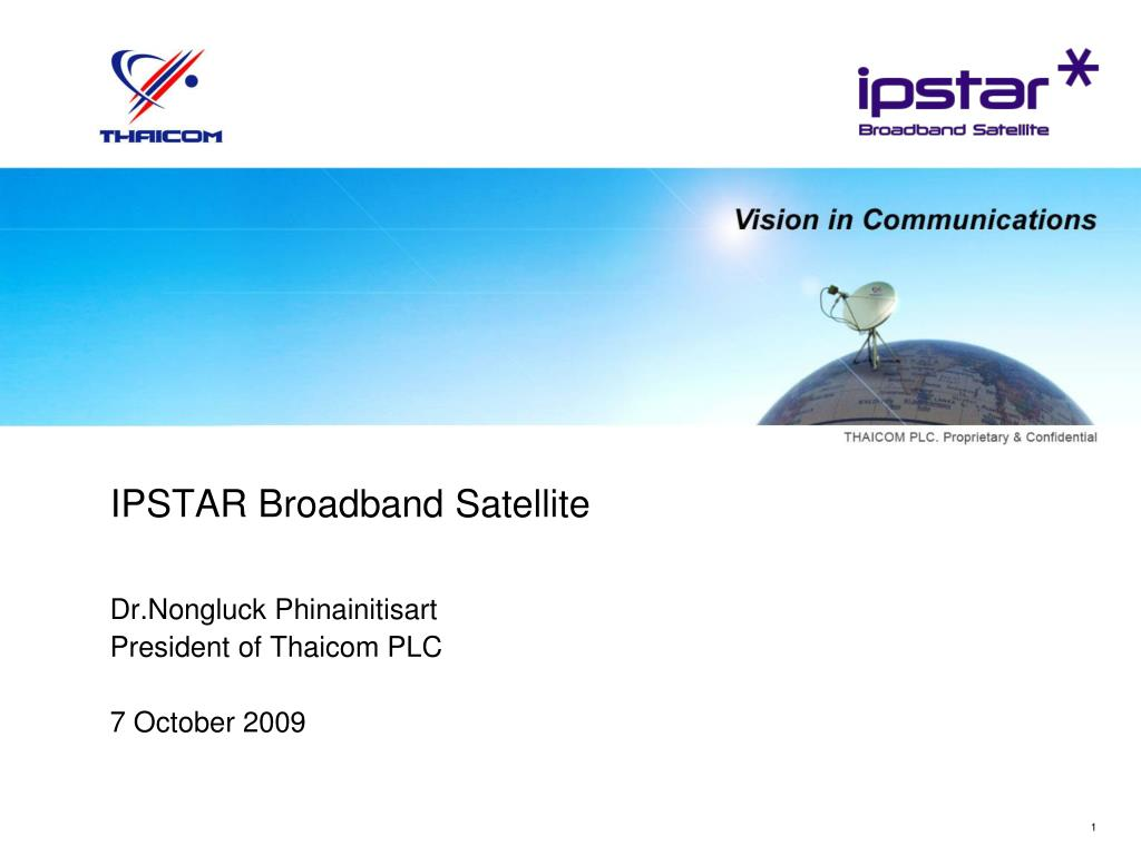 ipstar broadband satellite l.