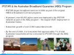 ipstar the australian broadband guarantee abg program