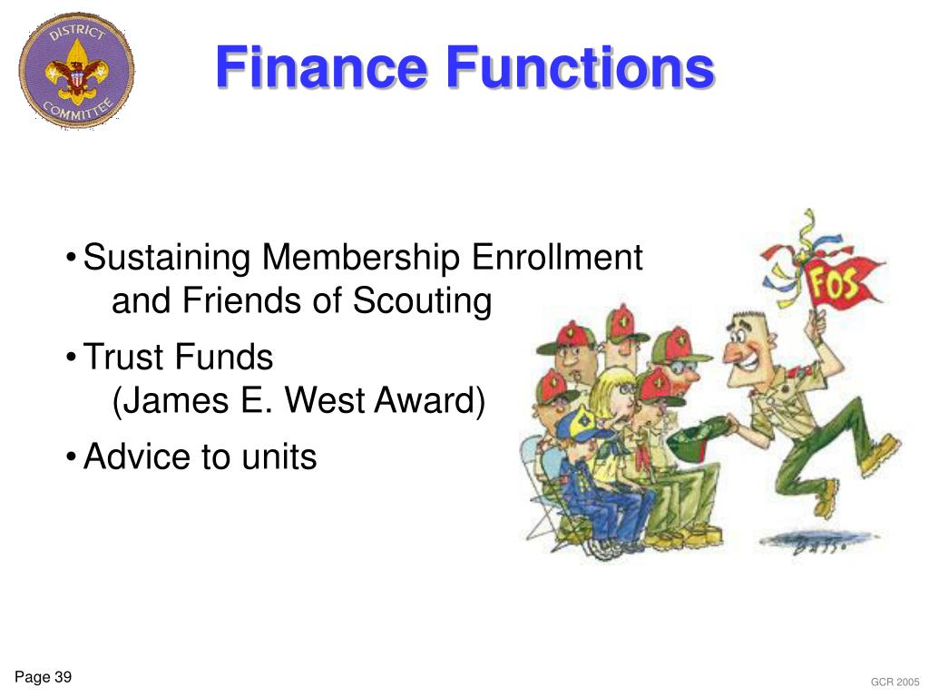 Finance Functions