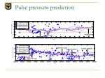pulse pressure prediction