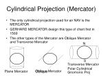 cylindrical projection mercator