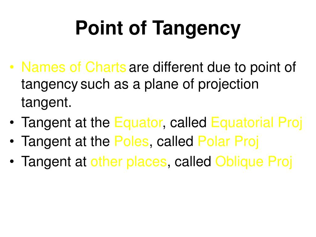 Point of Tangency