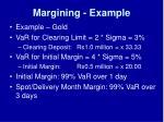 margining example