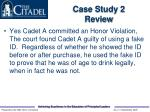 case study 2 review