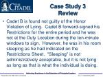 case study 3 review