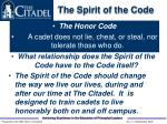 the spirit of the code10