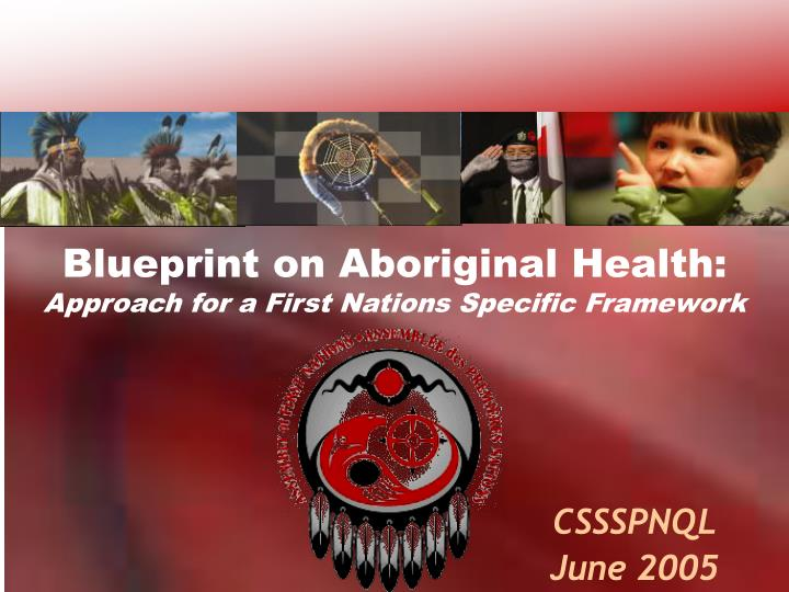 blueprint on aboriginal health approach for a first nations specific framework n.