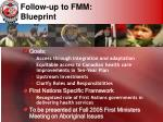 follow up to fmm blueprint