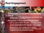 real engagement