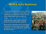 mwr army readiness