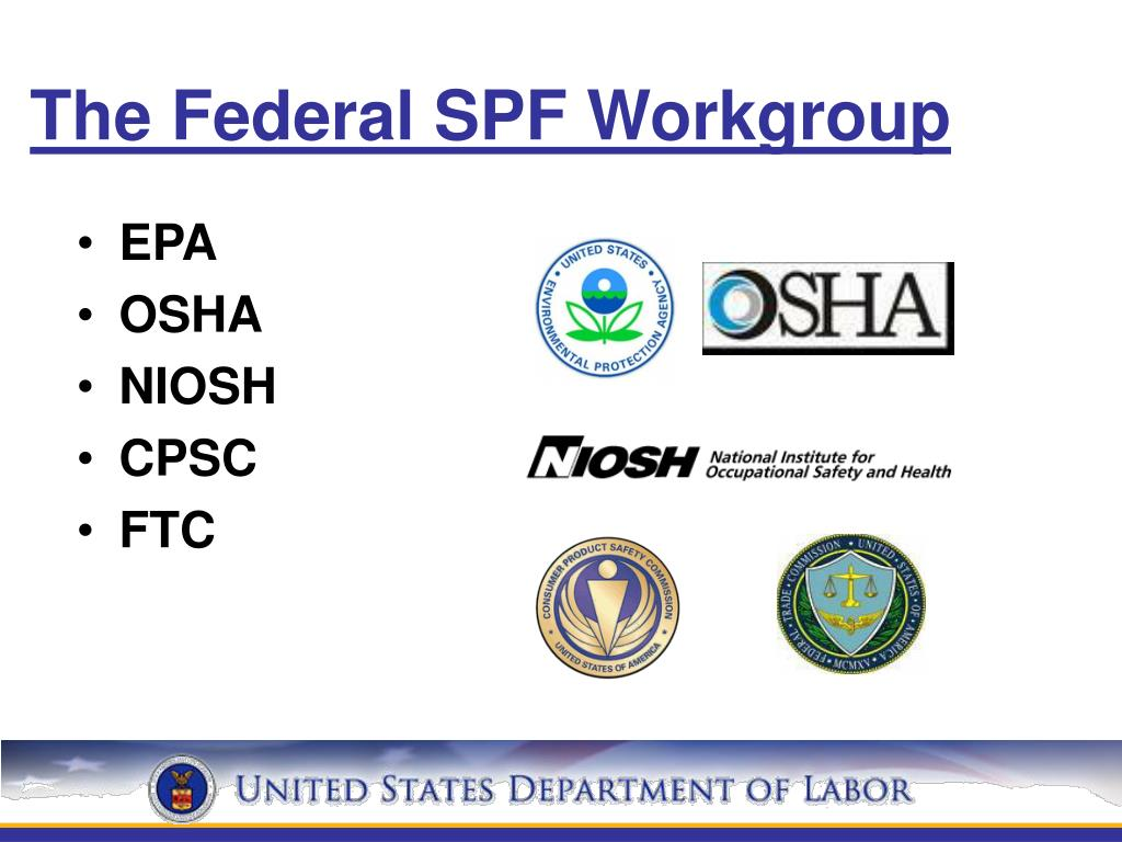 The Federal SPF Workgroup
