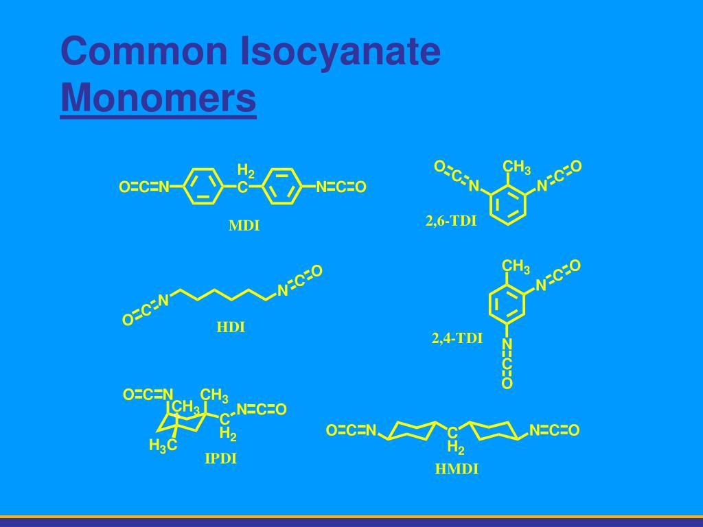 Common Isocyanate