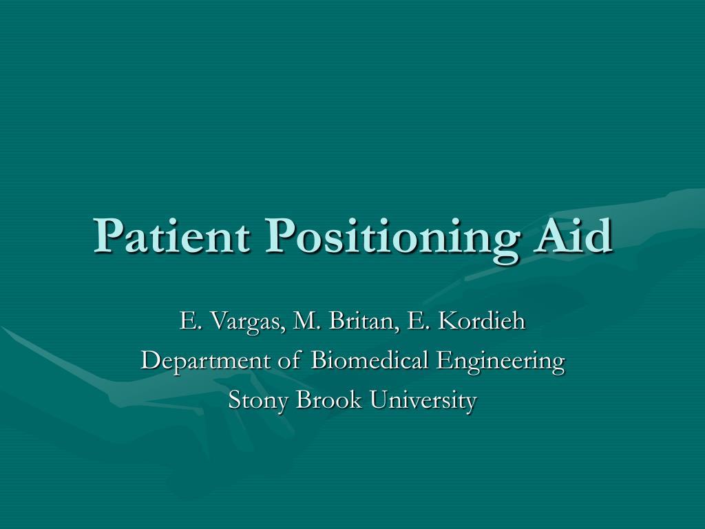patient positioning aid l.