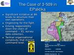 the case of 3 509 in epaktika