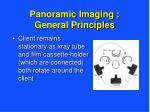 panoramic imaging general principles10