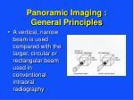 panoramic imaging general principles11