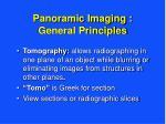 panoramic imaging general principles3