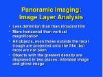panoramic imaging image layer analysis27