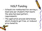 nslp funding23