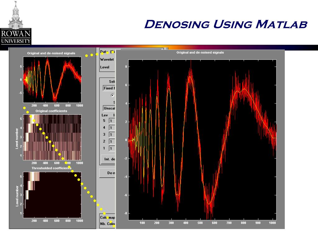 Denosing Using Matlab