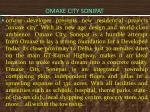 omaxe city sonipat
