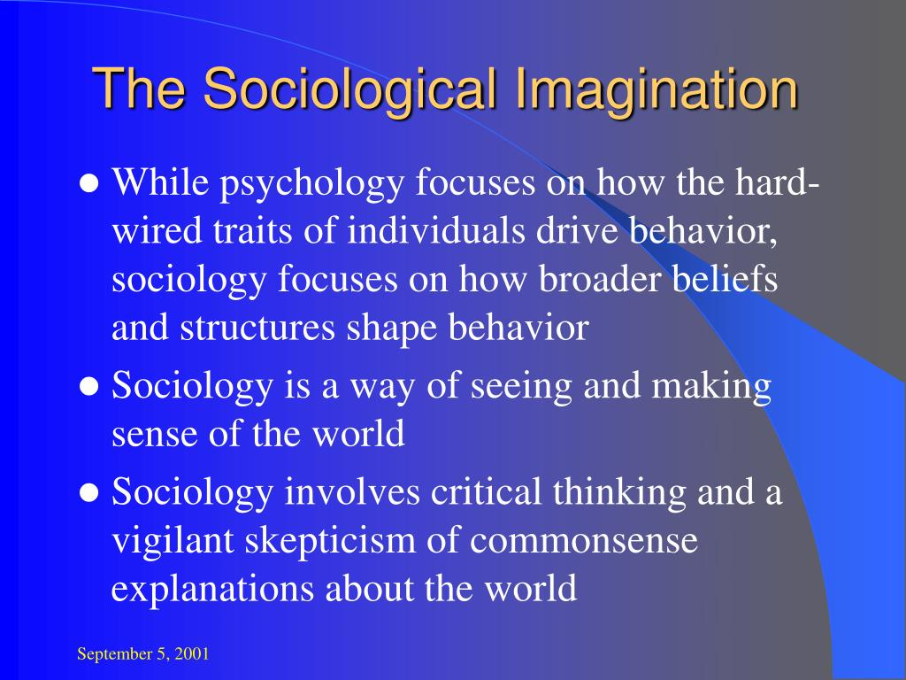 the sociological imagination l.
