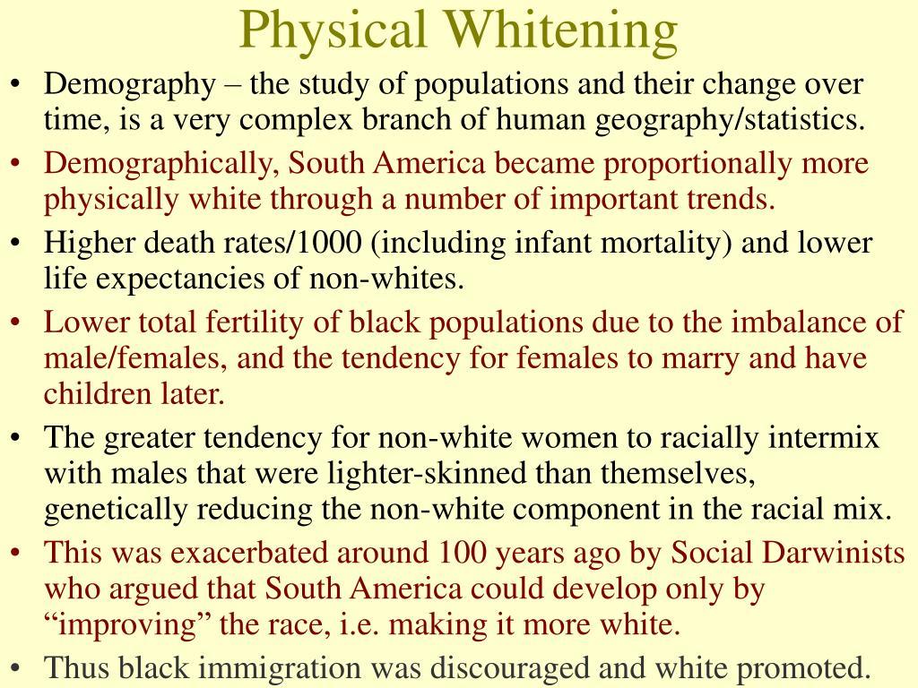 Physical Whitening